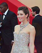 19.MAY.2013. CANNES<br /> <br /> JESSICA BIEL ATTENDS THE INSIDE LLEWYN DAVIES PREMIERE AT THE 66TH CANNES FILM FESTIVAL AT THE FESTIVAL DES PALAIS.<br /> <br /> BYLINE: JO ALVAREZ/EDBIMAGEARCHIVE.CO.UK<br /> <br /> *THIS IMAGE IS STRICTLY FOR UK NEWSPAPERS AND MAGAZINES ONLY*<br /> *FOR WORLD WIDE SALES AND WEB USE PLEASE CONTACT EDBIMAGEARCHIVE - 0208 954 5968*