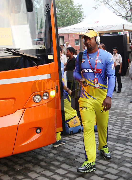 Dwayne Smith of The Chennai Superkings arrive before  match 26 of the Pepsi Indian Premier League Season 2014 between the Delhi Daredevils and the Chennai Superkings held at the Ferozeshah Kotla cricket stadium, Delhi, India on the 5th May  2014<br /> <br /> Photo by Arjun Panwar / IPL / SPORTZPICS<br /> <br /> <br /> <br /> Image use subject to terms and conditions which can be found here:  http://sportzpics.photoshelter.com/gallery/Pepsi-IPL-Image-terms-and-conditions/G00004VW1IVJ.gB0/C0000TScjhBM6ikg