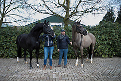 negro, Van Olst Anne, Valegro, Alan Davies<br /> Van Olst Horses - Den Hout 2017<br /> © Dirk Caremans<br /> 04/02/17