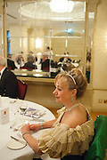 MARINA ARKELL; , The Royal Caledonian Ball 2013. The Great Room, Grosvenor House. Park lane. London. 3 May 2013.
