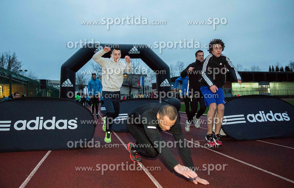 First meeting of Adidas running school - Adidasova poletna sola teka 2015, on March 27, 2015 in Kodeljevo, Ljubljana, Slovenia. Photo by Vid Ponikvar / Sportida