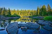 Ruisseau Bouchard Creek<br />La Mauricie National Park<br />Quebec<br />Canada