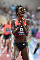Genzebe Dibaba of Ethiopia competes and breaks the World record in 1500m Women during the International Athletics Meeting Herculis, IAAF Diamond League, Monaco on July 17, 2015 at Louis II  stadium in Monaco, France - Photo Jean-Marie Hervio / KMSP / DPPI