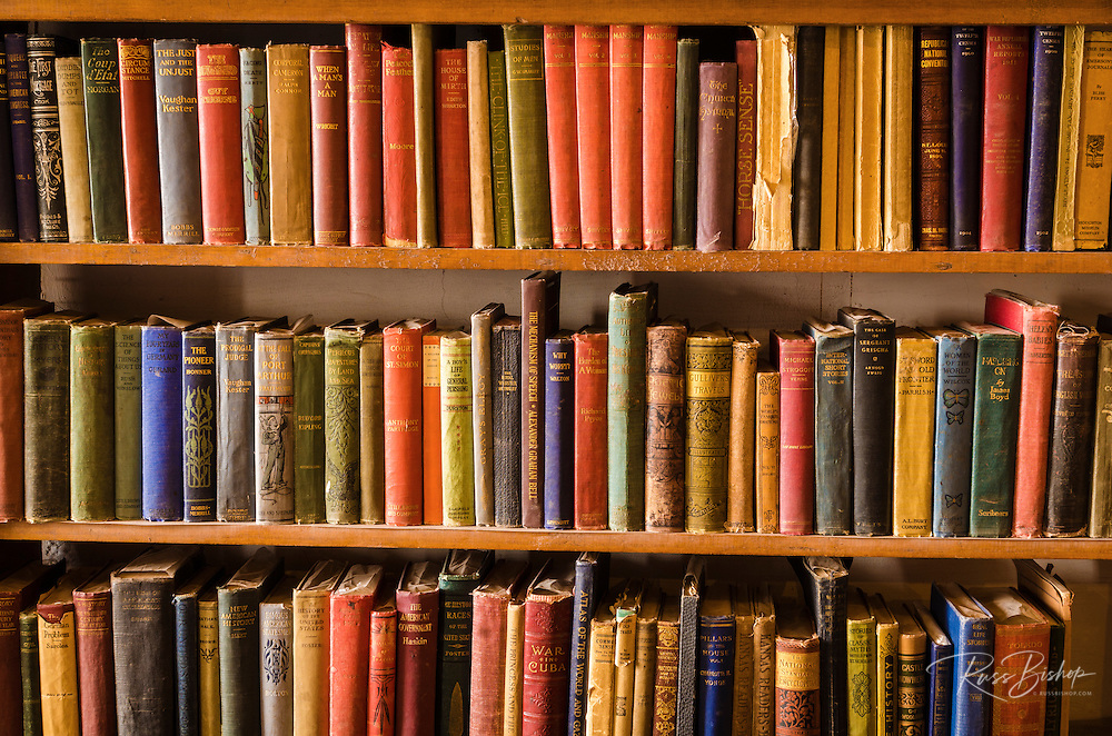 Classic books at Hubbell Trading Post National Historic Site, Arizona USA