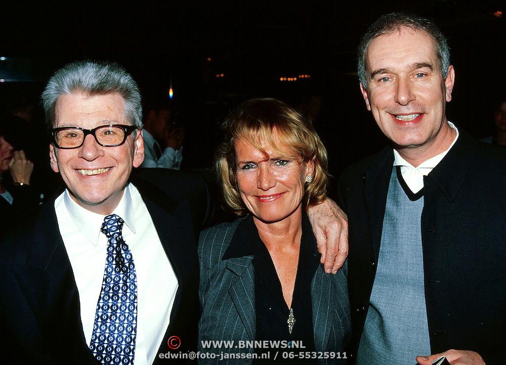 Gala van het Nederlandse lied, Friso Wiegersma. Annemarie Oster en een vriend