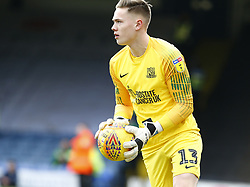 January 26, 2019 - Southend, England, United Kingdom - Nathan Bishop of Southend United.during Sky Bet League One match between Southend United and Luton Town at Roots Hall Ground, Southend, England on 26 Jan 2019. (Credit Image: © Action Foto Sport/NurPhoto via ZUMA Press)