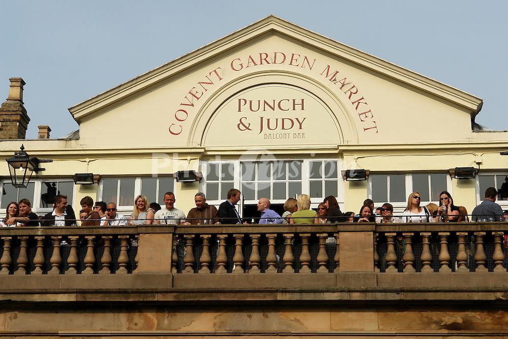 Punch & Judy pub; Covent Garden; London UK
