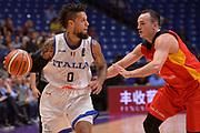 Daniel Hackett<br /> Nazionale Italiana Maschile Senior<br /> Eurobasket 2017 - Group Phase<br /> Italy Italia Germany Germania<br /> FIP 2017<br /> Tel Aviv, 05/09/2017<br /> Foto Ciamillo - Castoria/ Ivan Mancini