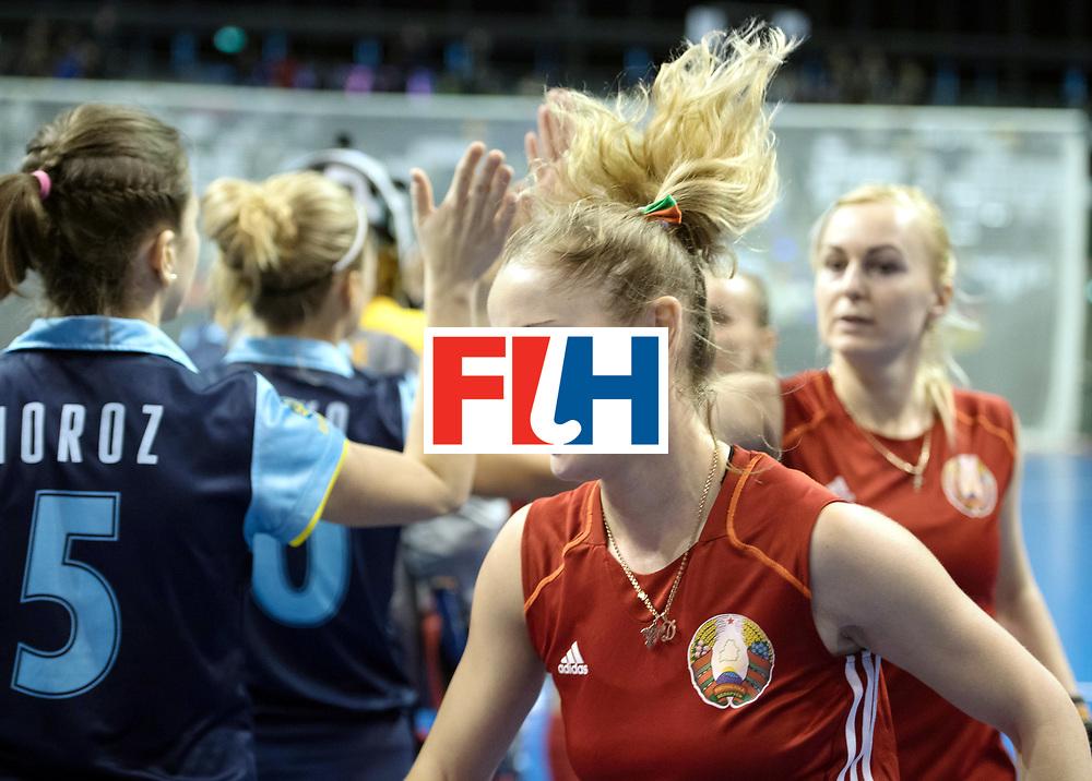 BERLIN - Indoor Hockey World Cup<br /> Bronze: Ukraine - Belarus<br /> foto: <br /> WORLDSPORTPICS COPYRIGHT FRANK UIJLENBROEK