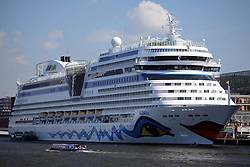 NETHERLANDS AMSTERDAM 11MAY11 - German luxury cruise liner Aida Blu at the port of Amsterdam, Netherlands...Photo by Jiri Rezac