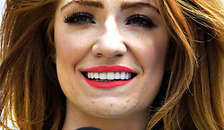 **ALTERNATE CROP** Nicola Roberts performs at T4 on The Beach in Weston-super-Mare, Somerset.