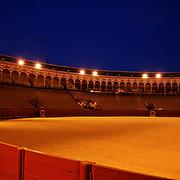 The prestigious bullring in Seville