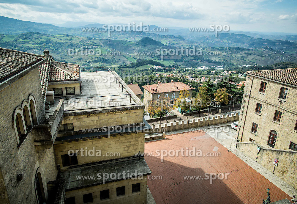 View from City of San Marino, on October 12, 2015 in Republic of San Marino. Photo by Vid Ponikvar / Sportida