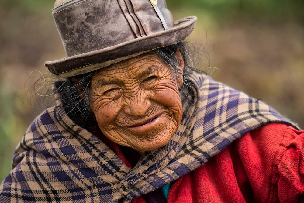 South America ,Peru, Lake Titicaca, local native woman,