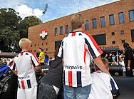 23-08-2008 VOETBAL:WILLEM II:OPENDAG:TILBURG<br /> Panna toernooi voor op het terrein van het Willem II stadion<br /> Foto: Geert van Erven