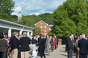 Charles R. Higgins Distinguished Alumnus Award Banquet outside of Nelson Commons. © Ohio University/ Photo by Kaitlin Owens