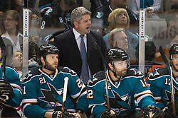 May 2, 2010; San Jose, CA, USA;  during the first period of game two of the western conference semifinals of the 2010 Stanley Cup Playoffs at HP Pavilion. Mandatory Credit: Jason O. Watson / US PRESSWIRE