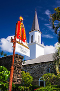 Mokuaikaua Church (Hawaii's first Christian church), Kailua-Kona, Hawaii