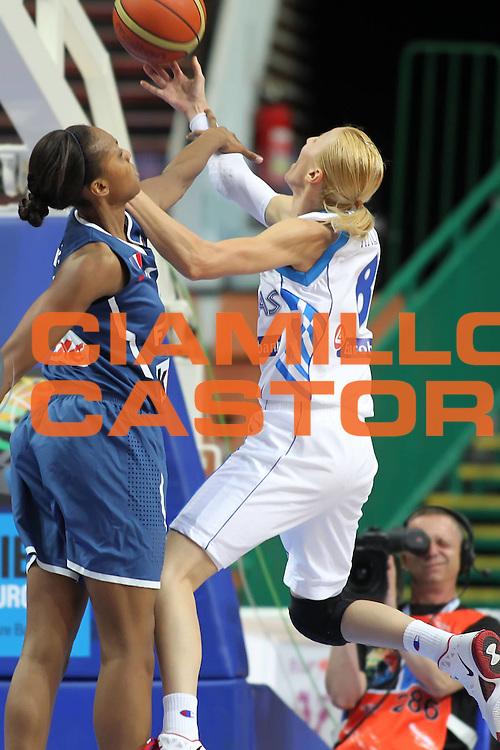 DESCRIZIONE : Katowice Poland Polonia Eurobasket Women 2011 Round 1 Grecia Francia Greece France<br /> GIOCATORE : Styliani Kaltsidou<br /> SQUADRA : Grecia Greece<br /> EVENTO : Eurobasket Women 2011 Campionati Europei Donne 2011<br /> GARA : Grecia Francia Greece France<br /> DATA : 20/06/2011<br /> CATEGORIA :<br /> SPORT : Pallacanestro <br /> AUTORE : Agenzia Ciamillo-Castoria/E.Castoria<br /> Galleria : Eurobasket Women 2011<br /> Fotonotizia : Katowice Poland Polonia Eurobasket Women 2011 Round 1 Grecia Francia Greece France<br /> Predefinita :