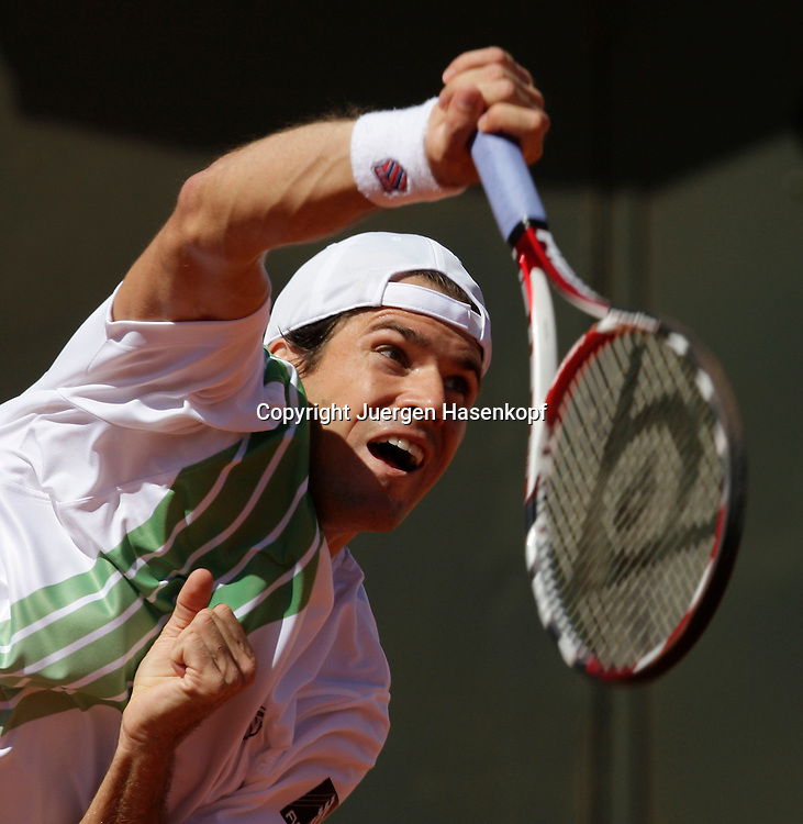 French Open 2009, Roland Garros, Paris, Frankreich,Sport, Tennis, ITF Grand Slam Tournament, ..Tommy Haas (GER) ..Foto: Juergen Hasenkopf..