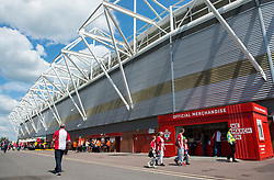 General view outside St Marys stadium. - Mandatory by-line: Alex James/JMP - 13/05/2018 - FOOTBALL - St Mary's Stadium - Southampton, England - Southampton v Manchester City - Premier League