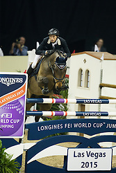 Fuchs Martin, (SUI), SG Future<br /> Longines FEI World Cup™ Jumping Final I<br /> Las Vegas 2015<br />  © Hippo Foto - Dirk Caremans<br /> 17/04/15
