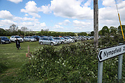 Car park during the EFL Sky Bet League 2 match between Forest Green Rovers and Exeter City at the New Lawn, Forest Green, United Kingdom on 4 May 2019.