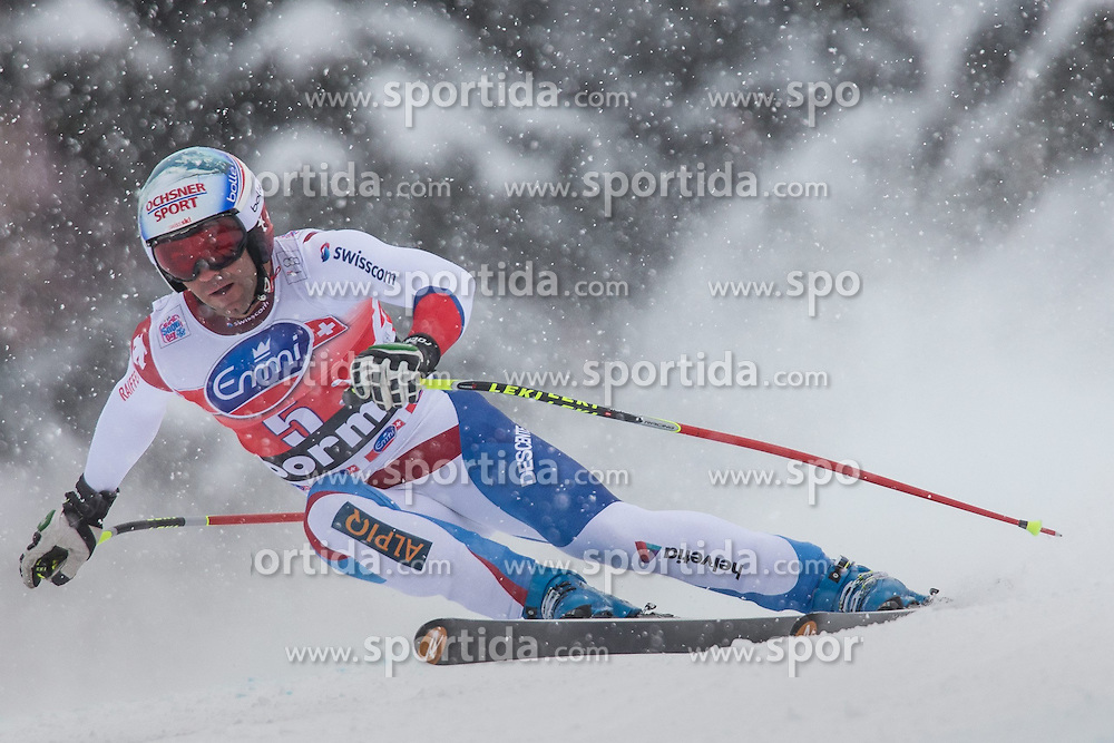 29.12.2013, Stelvio, Bormio, ITA, FIS Ski Weltcup, Bormio, Abfahrt, Herren, im Bild Didier Defago (SUI) // Didier Defago of Switzerland in action during mens downhill of the Bormio FIS Ski Alpine World Cup at the Stelvio Course in Bormio, Italy on 2013/12/29. EXPA Pictures © 2013, PhotoCredit: EXPA/ Johann Groder