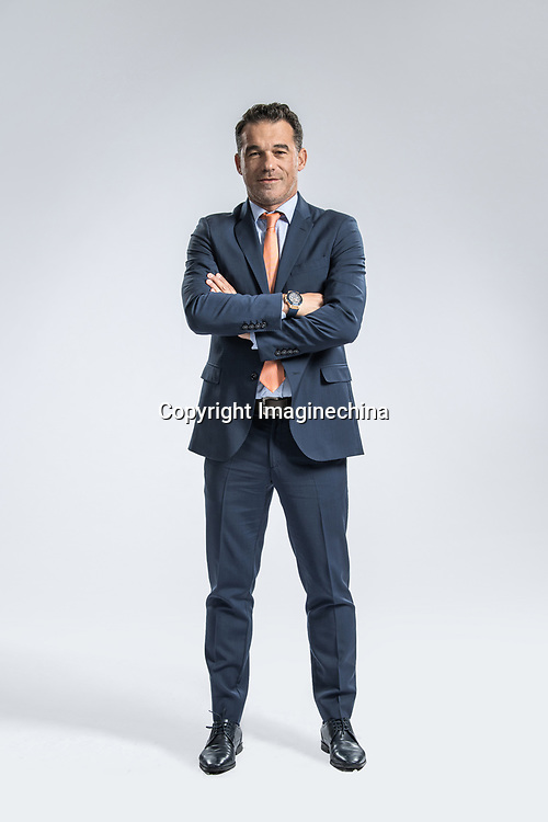 **EXCLUSIVE**Portrait of head coach Luis Garcia Plaza of Beijing Renhe F.C. for the 2018 Chinese Football Association Super League, in Shanghai, China, 24 February 2018.