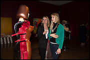 MARILENNA FRANKS; BELLA FRANKS, Allen Jones private view. Royal Academy,  London. 11 November  2014.