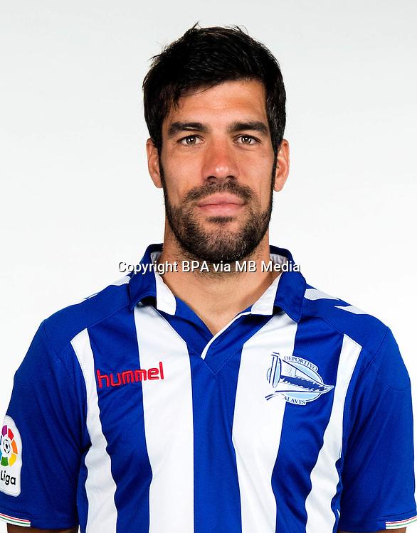 Spain - La Liga Santander 2016-2017 / <br /> ( Deportivo Alaves ) - <br /> Manuel Alejandro Garcia Sanchez &quot; Manu Garcia &quot;
