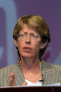 Patricia Hewitt MP, Secretary of State for Trade and Industry, speaking at the TUC.