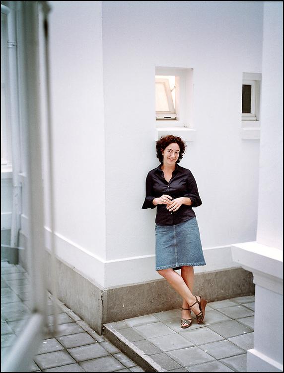 Nederland. Den Haag, 25 juni 2007.<br /> Femke Halsema, fractievoorzitter GroenLinks Tweede Kamer.<br /> Foto Martijn Beekman <br /> NIET VOOR TROUW, AD, TELEGRAAF, NRC EN HET PAROOL