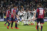 26.11.2017 - Torino - Serie A 2017/18 - 14a giornata  -  Juventus-Crotone nella  foto: Mattia De Sciglio abbracciato dai compagni dopo il gol del 2 a 0