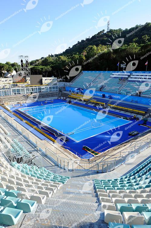 Water Polo Pool - Piscina Pallanuoto<br /> Roma 12/7/2009 Foro Italico<br /> Roma 2009 Championships <br /> Campionati Mondiali di Nuoto<br /> Photo: A.Staccioli/Insidefoto/Deepbluemedia