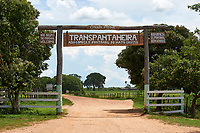 Entrance to Transpantanera Highway, Brazil (Photo: Peter Llewellyn)