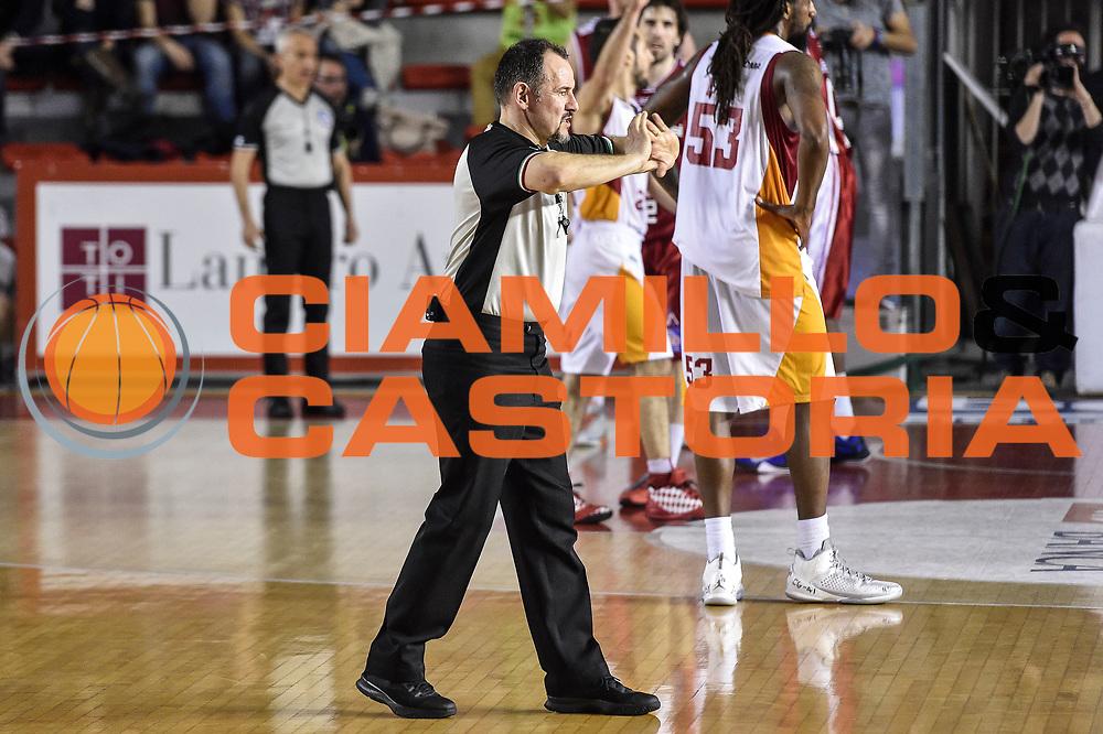 DESCRIZIONE : Campionato 2014/15 Virtus Acea Roma - Giorgio Tesi Group Pistoia<br /> GIOCATORE : Maurizio Biggi<br /> CATEGORIA : Arbitro Referee<br /> SQUADRA : AIAP<br /> EVENTO : LegaBasket Serie A Beko 2014/2015<br /> GARA : Dinamo Banco di Sardegna Sassari - Giorgio Tesi Group Pistoia<br /> DATA : 22/03/2015<br /> SPORT : Pallacanestro <br /> AUTORE : Agenzia Ciamillo-Castoria/GiulioCiamillo<br /> Predefinita :