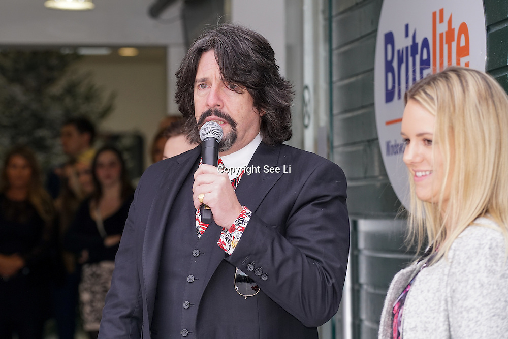 Glamorous TV presenter & inspiring author Katie Piper and the nation's favourite interior designer Laurence Llewelyn-Bowen open the Ideal Home Show at Christmas on 23rd November 2016 running from 23rd-27th November at Olympia, London,UK. Photo by See Li