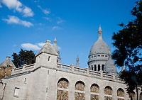 Sacre Coeur Church in Montmartre, Paris