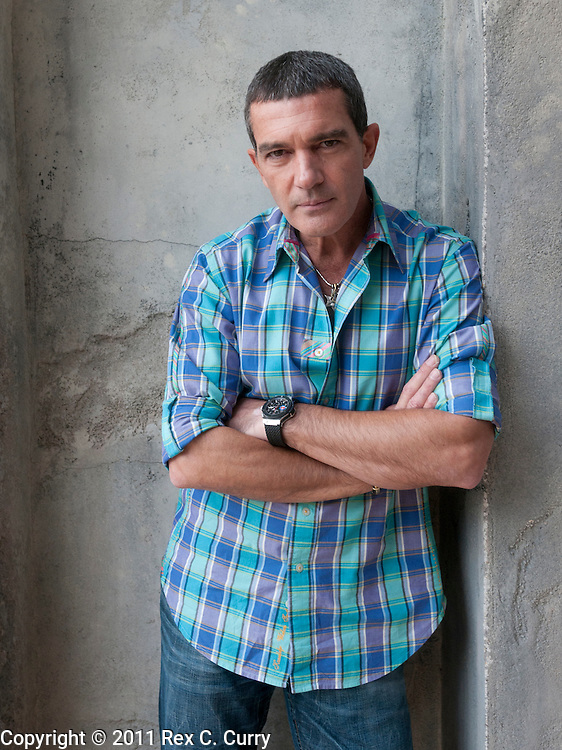 """Antonio Banderas is starring in two movies """"Puss in Boots"""",  a spin off of Shrek and """"The Skin I Live in"""", a film by Pedro Almodóvar"""