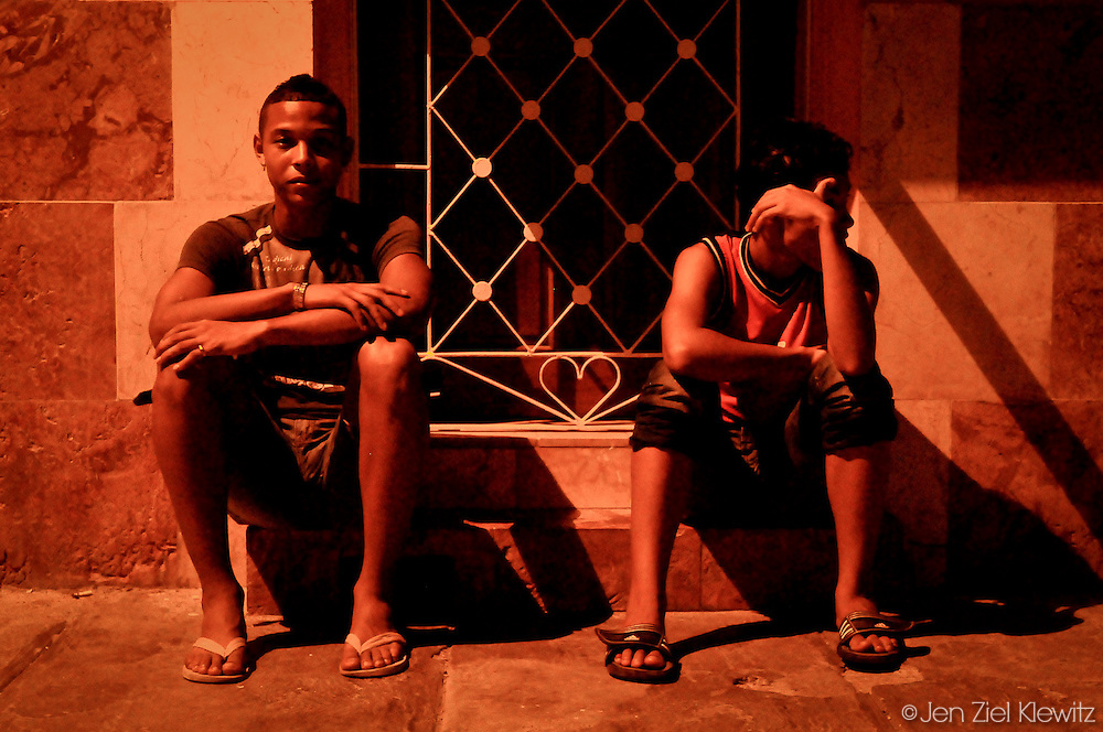 Late Night, Centro Habana, Cuba. Photo by Jen Klewitz