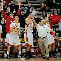 2.10.2012 Westlake at Brecksville Boys Varsity Basketball