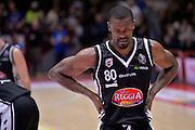 Linton Johnson<br /> The FlexX Pistoia Basket - Pasta Reggia Juve Caserta<br /> Lega Basket Serie A 2016/2017<br /> Pistoia 13/02/2017<br /> Foto Ciamillo-Castoria