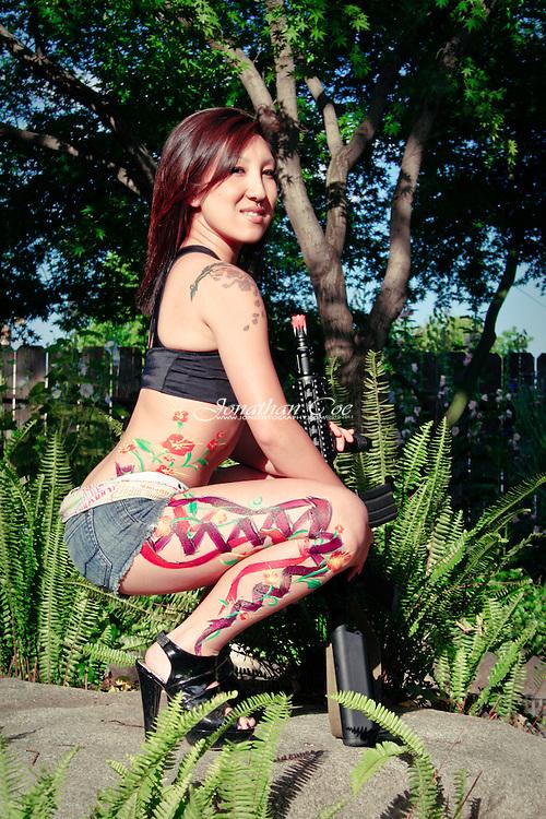 Model: Lia Xiong<br /> Location: Fresno, CA