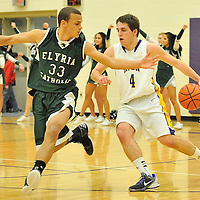 2.1.2013 Elyria Catholic at Avon Boys Varsity Basketball