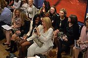 The Arthur Cox Irish Fashion Showcase 2015,  Irish based designers chosen to be part of this year's Arthur Cox Irish Fashion Showcases The Mall Galleries, London. 13 May 2015.