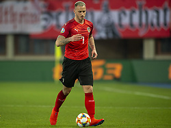 March 21, 2019 - Vienna, Austria - Marko Arnautovic of Austria in action during the UEFA European Qualifiers 2020 match between Austria and Poland at Ernst Happel Stadium in Vienna, Austria on March 21, 2019  (Credit Image: © Andrew Surma/NurPhoto via ZUMA Press)