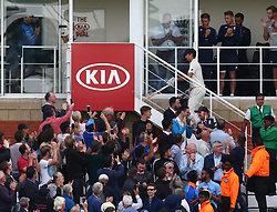 September 10, 2018 - London, Greater London, United Kingdom - England's Alastair Cook .during International Specsavers Test Series 5th Test match Day Four  between England and India at Kia Oval  Ground, London, England on 10 Sept 2018. (Credit Image: © Action Foto Sport/NurPhoto/ZUMA Press)