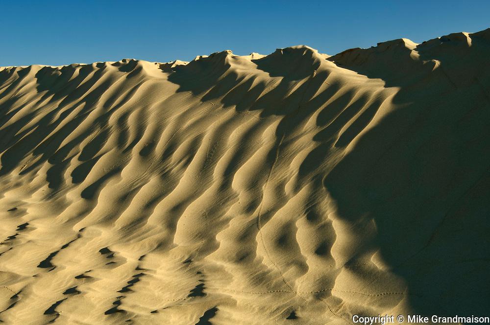 Ripples in sand dunes, Great Sand Hills, Saskatchewan, Canada