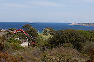 Cala longa beach near Bonifacio, Corsica south  /  la plage de Cala longa  pres de Bonifacio, Corse du sud
